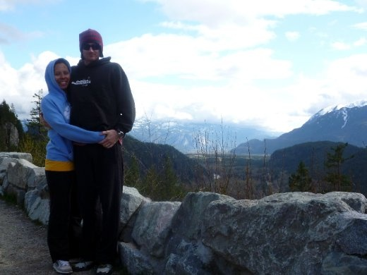 Looking over Squamish and the Chief.
