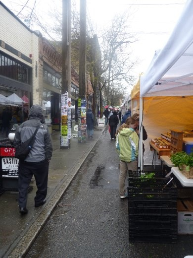 Farmers market in Seattle
