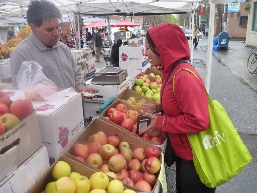 Farmers market in Seattle