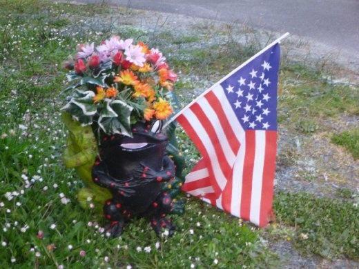 American patriotism, everywhere