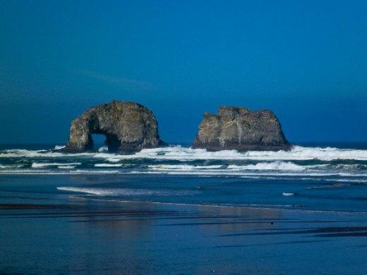 Twin Rocks, Rockaway Beach
