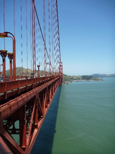 the length of the Golden Gate