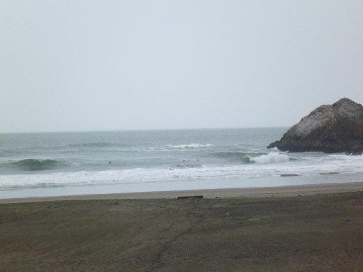 Ocean Beach, San Francisco...just before the rain