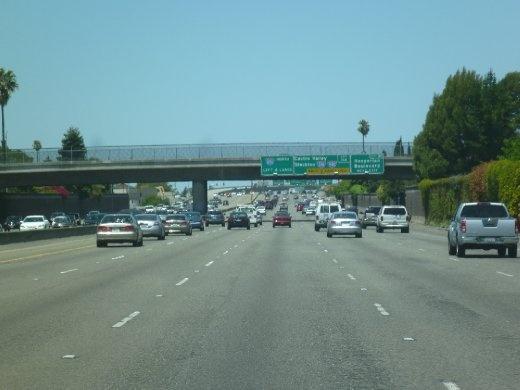 Crazy highway action