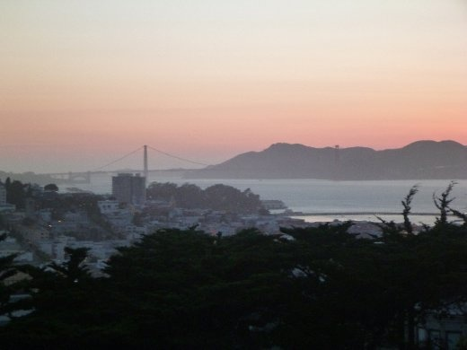 Yup, view from Coit tower