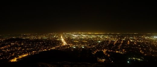 View from Twin Peaks, San Fran