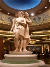 Beautiful statues inside Caesar's: by brettcooke, Views[145]