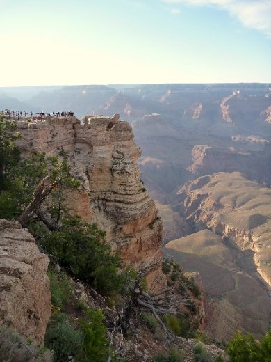 Mather viewpoint, first spot we stopped when we got to the Grand Canyon