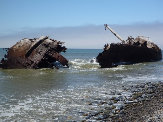 Different perspective of Shipwrecks