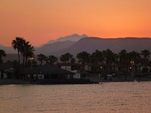 Loreto sunset
