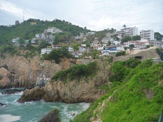 Cliff scene
