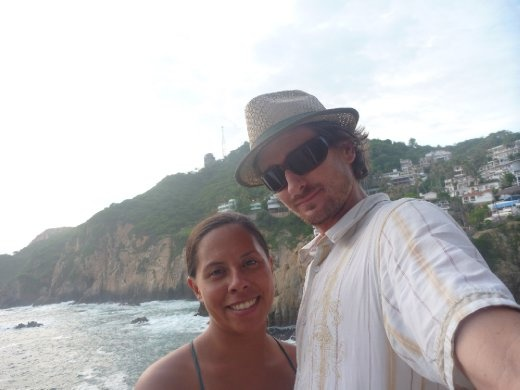 Us on the cliffs