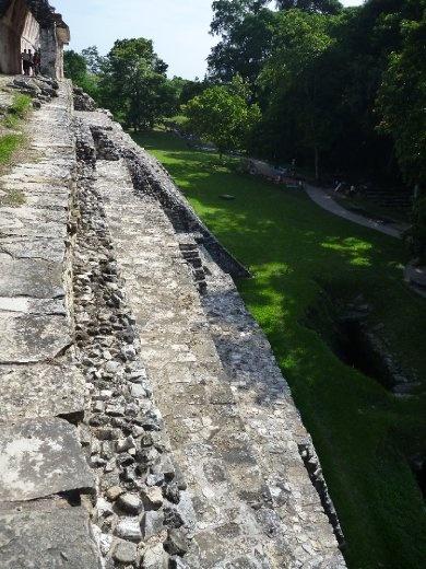 steep ancient steps