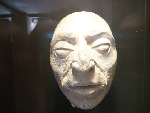 faces like this were used to decorate the outsides of the buildings