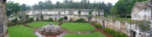 Colegio de San Jeronimo, built in 1757...destroyed in an earthquake in 1773, Antigua