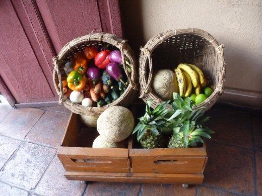 beautiful produce at Sabe Rico