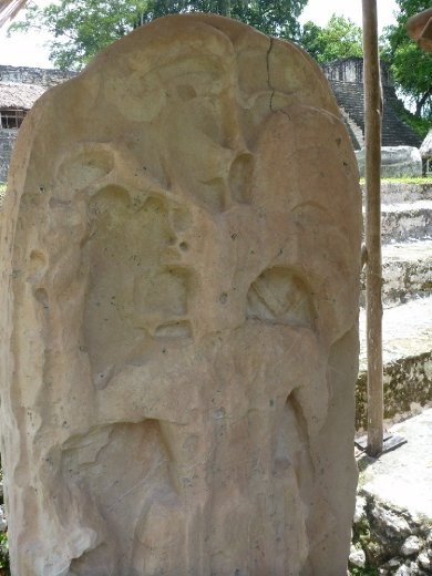 Limestone carving