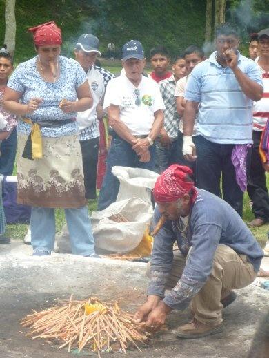modern Mayan ritual