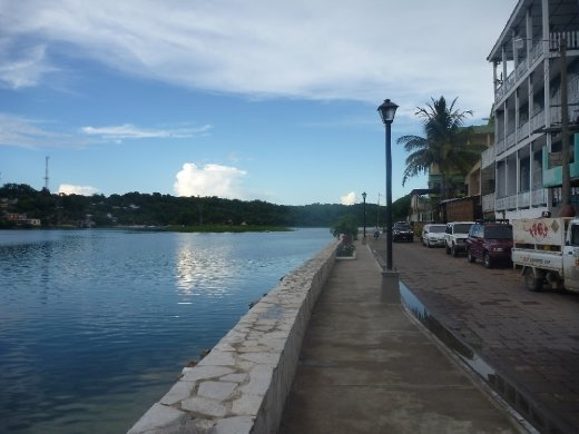 Lake in the town of Flores...Agua es vida