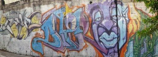 graffiti Guatemala city