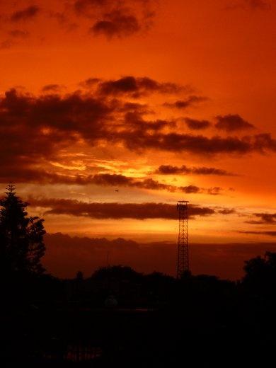 Sunrise in Juchitan