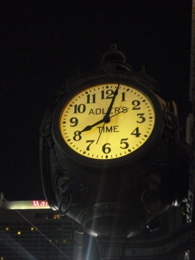 Canal St Clock