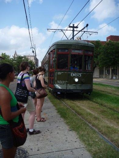St Charles Streetcar. Cheap at $1.25.