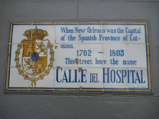 There is even an underlying Spanish influence in New Orleans.