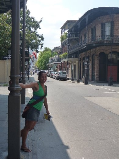 Danielle in the French Quarter