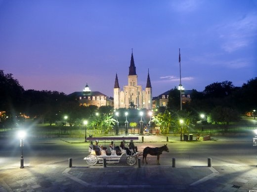Jackson Square nightscape