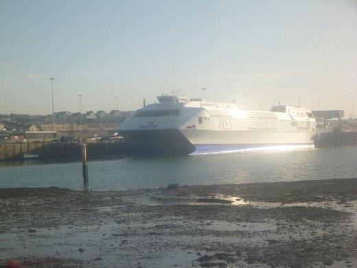Ferry across the Irish sea...to Wales