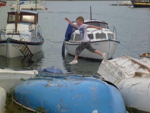fun on boats