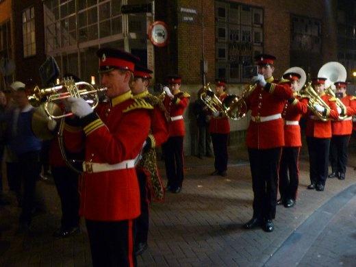 random marching band