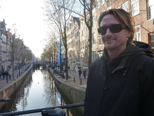 daytime canal shot