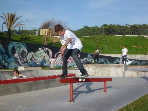 grommets at the skatepark