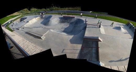 Quiksilver skate park