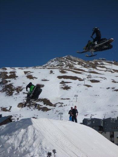 snowmobile demo