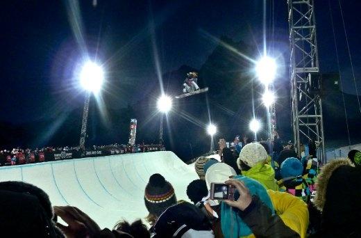 Shaun White. Superpipe final