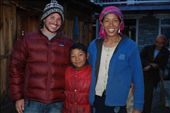 Brian with Tibetan family...we stayed at their guest house in Timang: by brian-camille, Views[349]