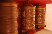 Prayer wheels - when spun they are thought to release the prayers that are contained inside them.: by brian-camille, Views[276]