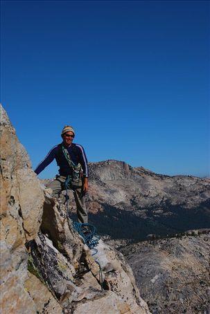 near the summit of Tenaya Peak
