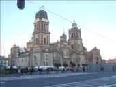 National Cathedral - Mexico City Zocalo.: by brian, Views[323]