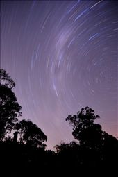 star trail from southern hemisphere: by briano, Views[285]