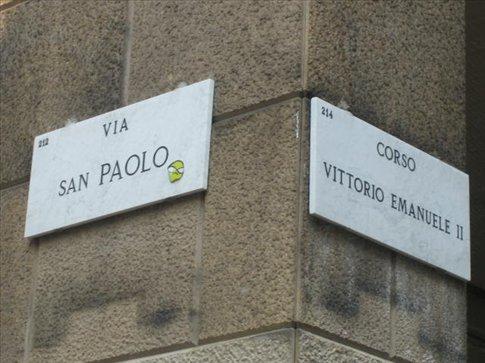 via san paolo: immerhin ein dezenter hinweis, wohin ich wirklich will!