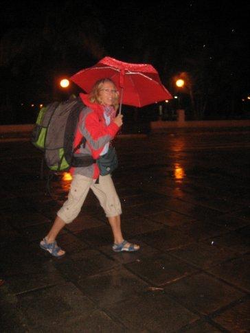 und immer endet es mit regen :(