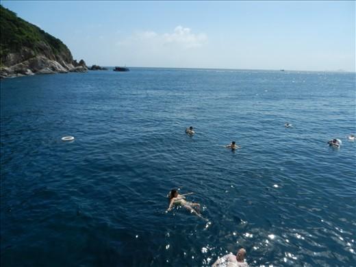 Snorkelling around the Islands off Nha Trang, Vietnam