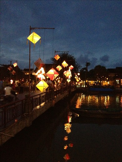 Lanterns in Hoi An - most beautiful city in Vietnam