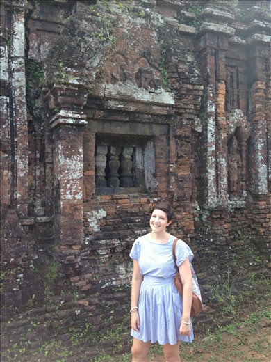 My Son Temples in Hoi An - heritage listed site