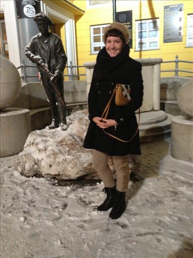 At corvin plaza, budapest