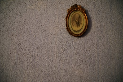 Is there a better parable of humbleness than miniature photograph hung on rough wall of the monk who from secluded monastery discovered new stars, calculated comet paths, corresponded with over hundred leading observatories and left behind largest astronomy library in Croatia?